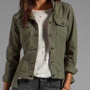 Rag and bone olive green utility jacket